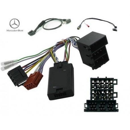 COMMANDE VOLANT Mercedes CLASSE C 2000-2004 (W203) ISO - Pour SONY complet avec interface specifique