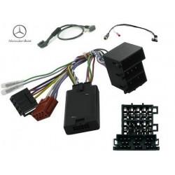 COMMANDE VOLANT Mercedes CLK 2001-2004 ISO - Pour JVC complet avec interface