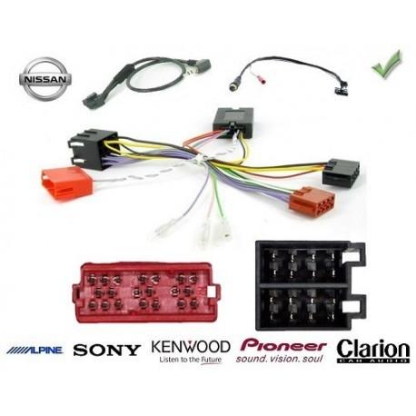 COMMANDE VOLANT Nissan Kubistar - Pour SONY complet avec interface specifique