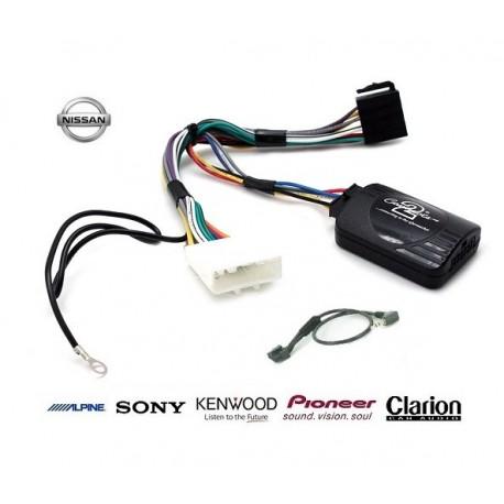 COMMANDE VOLANT Nissan Pulse 2011- - Pour SONY complet avec interface specifique