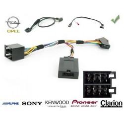 COMMANDE VOLANT Opel Antara 2007-2010 FAKRA - Pour Pioneer complet avec interface specifique