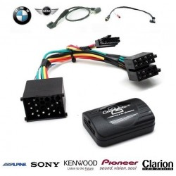 COMMANDE VOLANT BMW X5 2000-2006 (E53) OEM - Pour Pioneer complet avec interface specifique