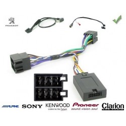 COMMANDE VOLANT Peugeot 207 2008- - Pour SONY complet avec interface specifique