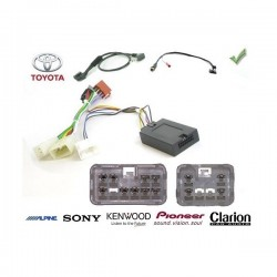 COMMANDE VOLANT Toyota RAV4 2001-2011 - Pour Alpine complet avec interface specifique