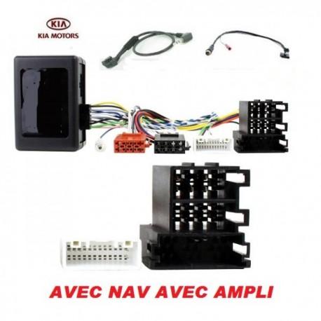 COMMANDE VOLANT KIA SPORTAGE 2010- AVEC NAV AVEC AMPLI - Pour Pioneer