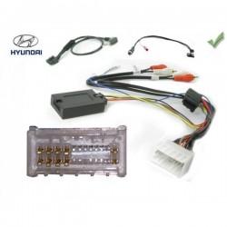 COMMANDE VOLANT Hyundai Santa Fe 2006-2010 AVEC AMPLI - Pour Alpine complet avec interface specifique
