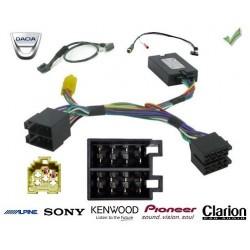 COMMANDE VOLANT Dacia SANDERO - Pour SONY complet avec interface specifique