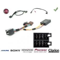 COMMANDE VOLANT FIAT QUBO 2009- - Pour Pioneer complet avec interface specifique
