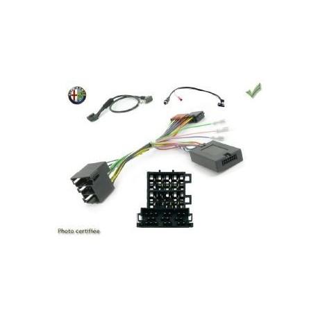 COMMANDE VOLANT FIAT STILO 2001-2007 - Pour Pioneer complet avec interface specifique