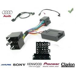 COMMANDE VOLANT Audi A4 2001-2007 - Pour Pioneer complet avec interface specifique