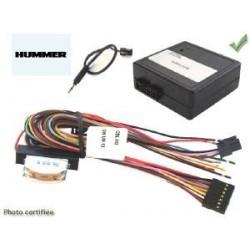 COMMANDE VOLANT HUMMER H2 2003- - Pour Pioneer complet