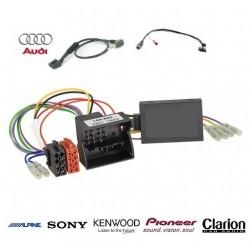 COMMANDE VOLANT AUDI Q3 2011- - Pour SONY complet avec interface specifique