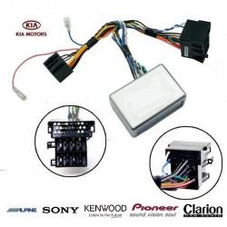 COMMANDE VOLANT KIA SORENTO 2009- AVEC AMPLI - Pour Pioneer complet avec interface specifique